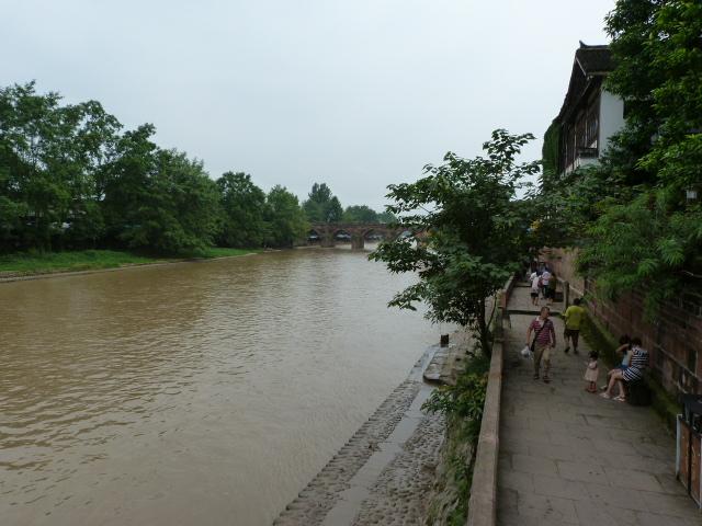 CHINE.SICHUAN.PING LE à 2 heures de Chengdu. Ravissant .Vallée des bambous - P1070496.JPG