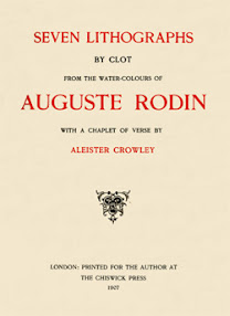 Cover of Aleister Crowley's Book Rodin In Rime