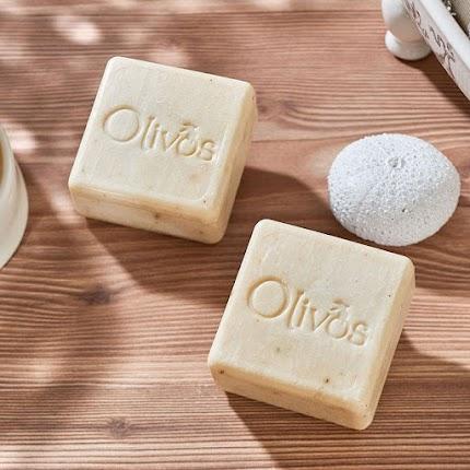 Натуральне оливкове мило Olivos Square Nettle