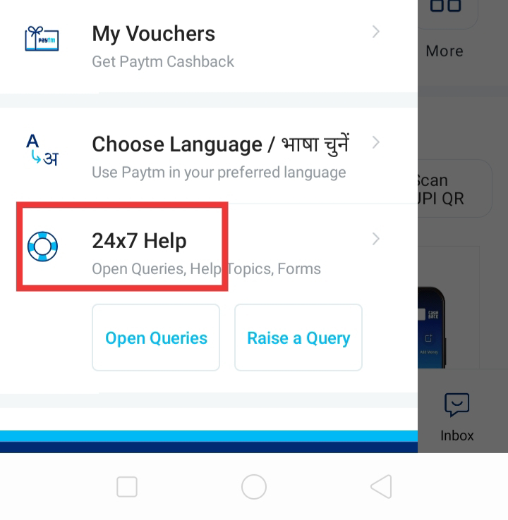 how to delete paytm account in mobile