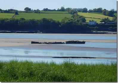 15 wreck of coal barge destroyer of railway bridge