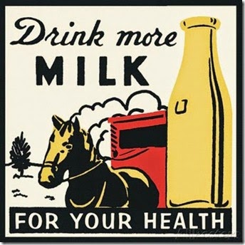 Drink more milk for your health Poster