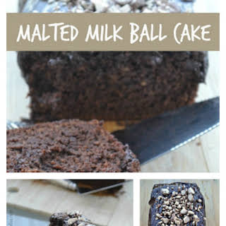 Malted Milk Ball Cake.