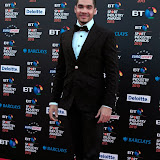 WWW.ENTSIMAGES.COM -   Louis Smith  at      BT Sport Industry Awards at Battersea Evolution, Battersea Park, London May 2nd 2013                                                  Photo Mobis Photos/OIC 0203 174 1069