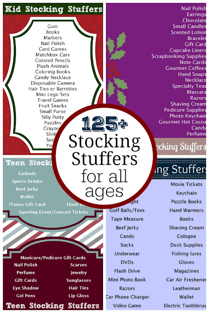 Over 125 Stocking Stuffer Ideas for All Ages