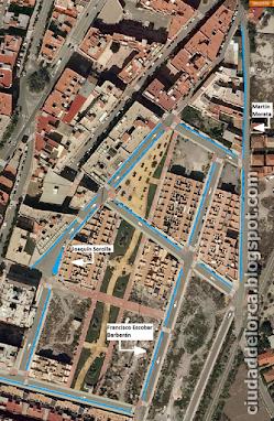 Zona Ana Caicedo-Martin Morata - aparcamientos - antes