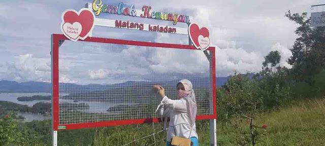 Wisata Bukit Matang Kaladan