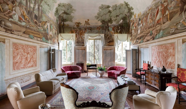 Villa with garden and terrace Casciana Terme Lari