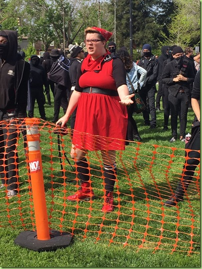 berkeley protestor