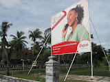 "Digicel ""Free Zone"" woman that I keep hearing and seeing on TV. Would you like ""free weekends""?"