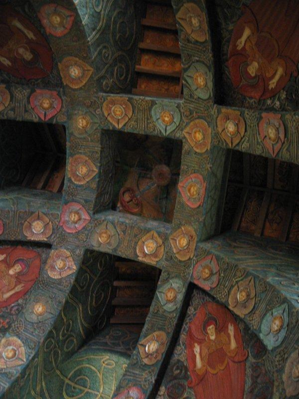 12 ceiling in watts chapel