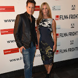 OIC - ENTSIMAGES.COM - Howard Ford and Angela Dixon at the Film4 Frightfest on Friday of Never Let Go  UK Film Premiere at the Vue West End in London on the 28th August 2015. Photo Mobis Photos/OIC 0203 174 1069