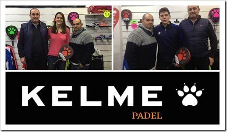 Kelme Pádel incorpora a Tamara Icardo y a Mario Ortega a su equipo de jugadores.