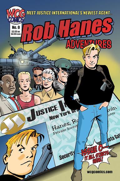 Rob Hanes Adventures #0 cover