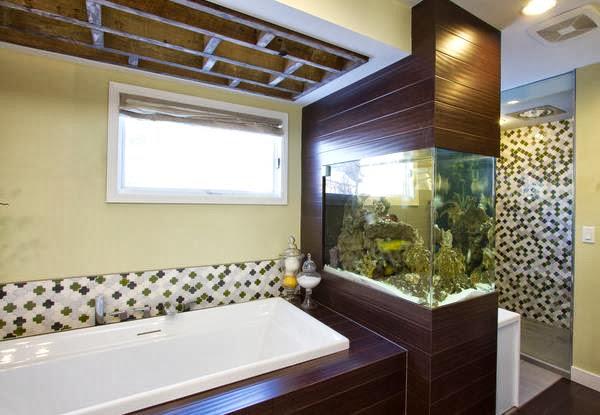 Ванная комната – океанариум