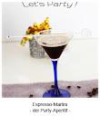 Espresso-Martini - der Party-Aperitif
