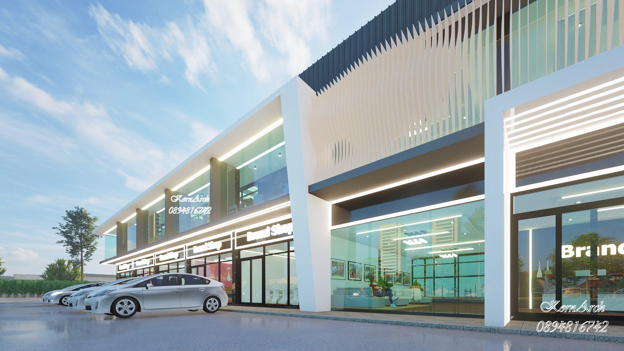 รับออกแบบSPORT CLUB Full fitness gym and Badminton  เจ้าของอาคารเรือนไทยคุ้มเจ้าสัว สถานที่ก่อสร้าง รามอินทรา ซอย 5 แขวงอนุสาวรีย์ เขตบางเขน กทม.
