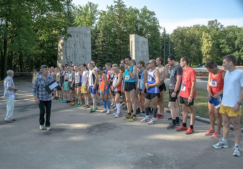 Традиционный л/а пробег «Километры скорби», посвященный жертвам Великой Отечественной войны