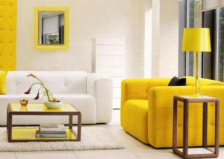 decorar con blanco y color