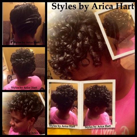 Hair style image, braids, curls, healthy hair, black hair styles