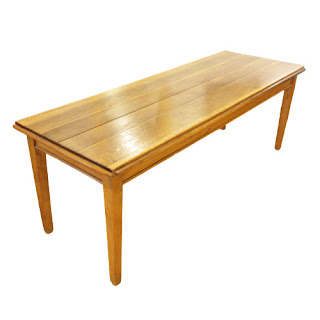 Rustic 7' Pine Table