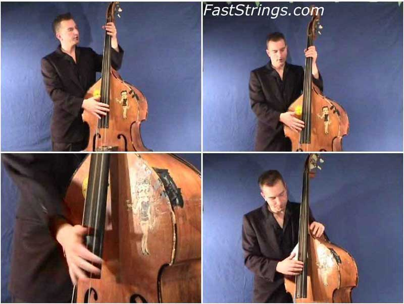 Pete Turland - Rockabilly Slap Bass