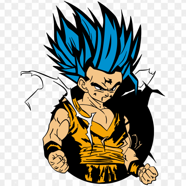 Goku Dragon Ball Z png Transparente