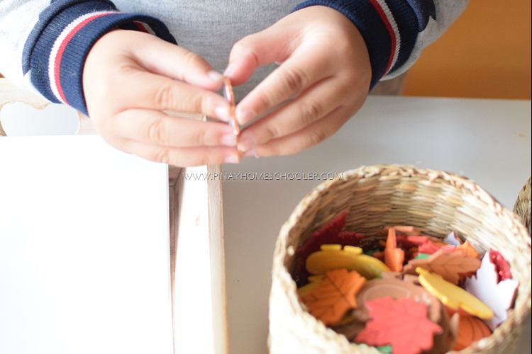 Autumn Foam Sticker Activity