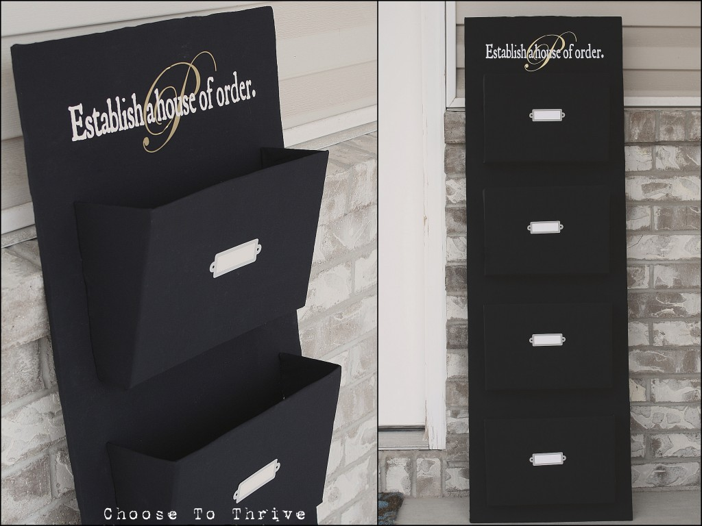 be different act normal diy mail organizer. Black Bedroom Furniture Sets. Home Design Ideas