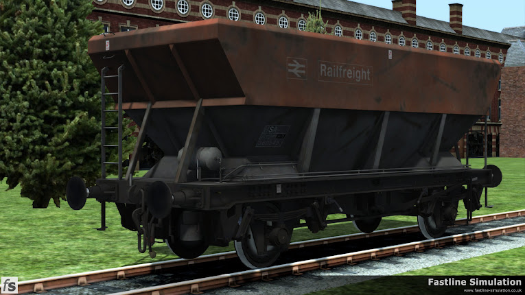Fastline Simulation: HSA Scrap Wagons