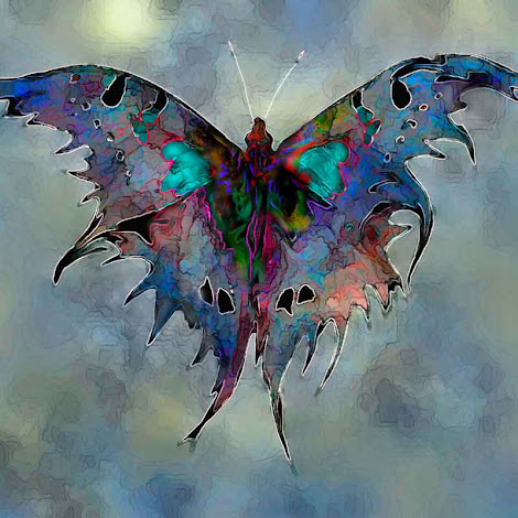 """The """"Evening Moth"""" piece from the """"2003"""" collection"""