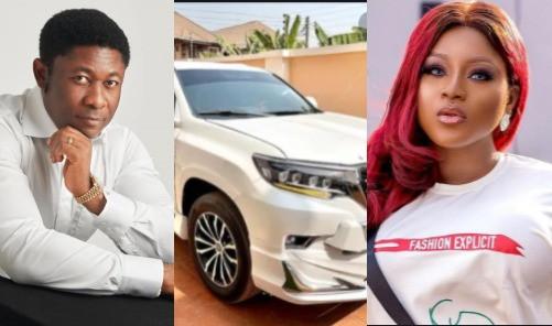 Oil & Gas businessman Tein Jack-Rich reacts to allegation he bought actress Destiny Etiko a Prado SUV