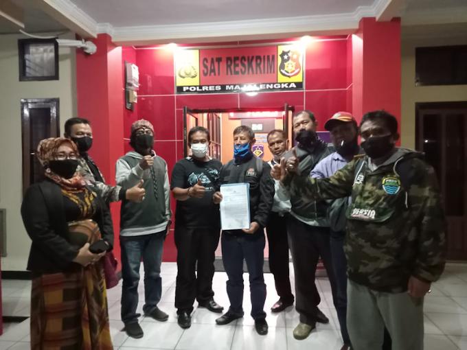 Oknum Ormas Tukang Pukul Wartawan Resmi Dilaporkan