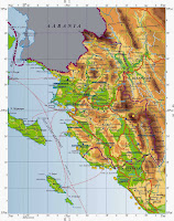 Ήπειρος, γεωφυσικός χάρτης Ηπείρου, Ελληνικές φυλές.