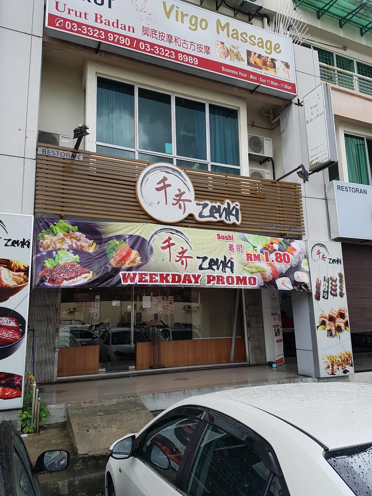 Zenki Sushi @ Bukit Tinggi , Klang , Selangor