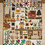 DANS MA CAMPAGNE 142 x 170 cm - piécé et quilté machine par Olga Proniewski