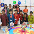 Dussehra Celebration by Grade 1 at Witty World, Chikoowadi 2017-18.