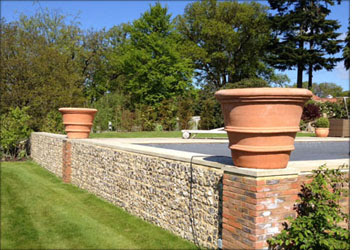 ... Garden Design With Large Terracotta Pots And Planters With Raised Garden  Bed From Morethanpots.com
