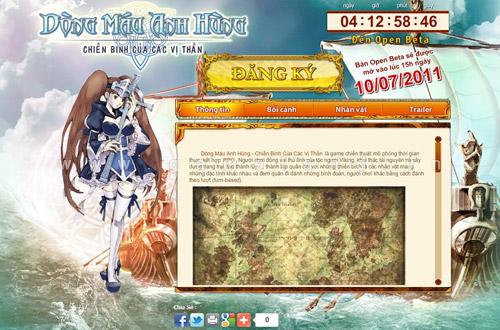 Điểm mặt các webgame tiếng Việt ra mắt trong tháng 07