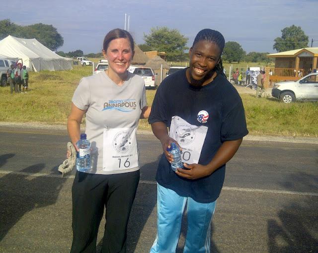 Carolyn and Mpho (PC Staff)