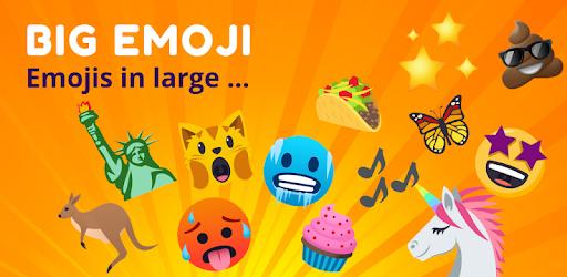 Big Emoji - large emoji for all chat messengers - Apps on