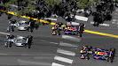 Start of Monaco Grand Prix - 2