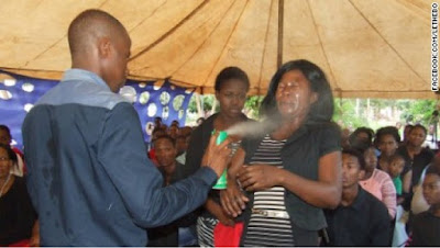 South African pastor sprays insecticide on congregants to heal them