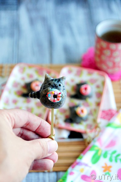 How to make How to Make Pusheen Dango 胖吉貓糰子     http://uTry.it