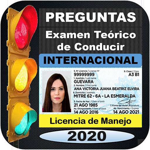 Preguntas 2020 Examen Teorico Licencia Manejo