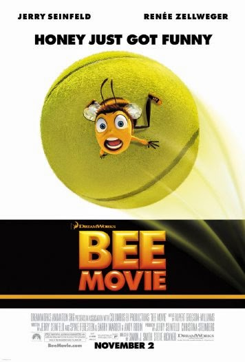 Poster Of English Movie Bee Movie (2007) Free Download Full New Hollywood Movie Watch Online At alldownloads4u.com