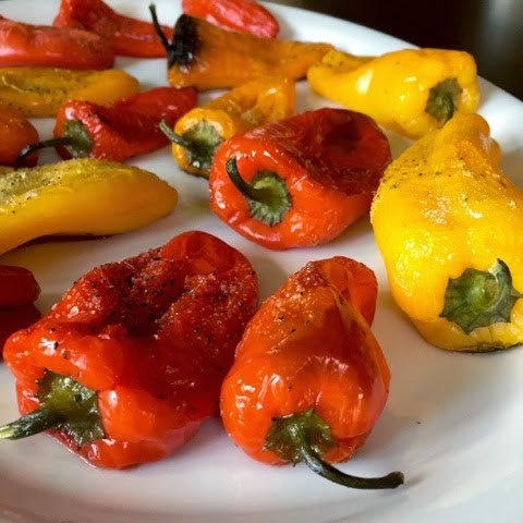 Roasted Baby Pepper Appetizer! (17 Day Diet Friendly)