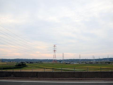 名鉄バス「名古屋~新潟線」 2801 車窓 その2