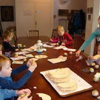 27-3-2016 Kindernevendienst Eerste Paasdag in de Grote Kerk