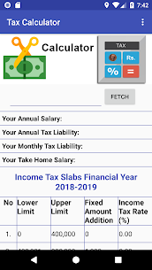 Pakistan Income Tax Calculator 2018-2019 App Download For Android 5